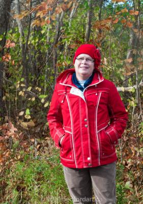 artist, Carolyn,chemo,walk,autumn