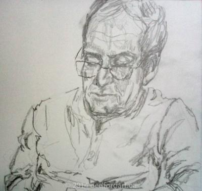 drawing, hospital,portrait, George