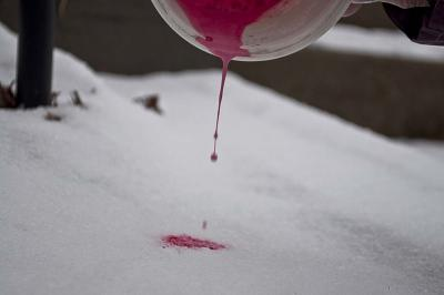pour, photo blood drip, splatter, painting