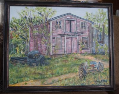 painting, art, plein air, scenery